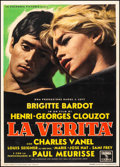 """Movie Posters:Foreign, The Truth (Columbia, 1960). Italian 2 - Fogli (39"""" X 55""""). Foreign.. ..."""