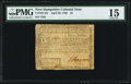 Colonial Notes:New Hampshire, New Hampshire April 29, 1780 $3 PMG Choice Fine 15.. ...