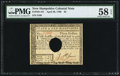 Colonial Notes:New Hampshire, New Hampshire April 29, 1780 $3 PMG Choice About Unc 58 EPQ.. ...
