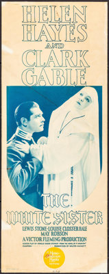 "The White Sister (MGM, 1933). Insert (14"" X 36""). Drama"