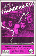 "Movie Posters:Rock and Roll, The Fabulous Thunderbirds (1985 & 1992) Rolled, Very Fine. Concert Posters (2) (11"" X 17""). Rock and Roll.. ... (Total: 2 Items)"