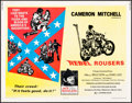 """Movie Posters:Exploitation, The Rebel Rousers (Four Star Excelsior, 1970). Half Sheet (22"""" X 28""""). Exploitation.. ..."""