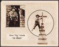 """Movie Posters:Comedy, The Sheriff (Paramount, 1918). Lobby Card (11"""" X 14""""). Comedy.. ..."""