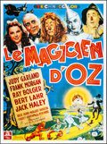 """Movie Posters:Fantasy, The Wizard of Oz (MGM, R-1989). French Grande (46.25"""" X 62.25""""). Fantasy.. ..."""
