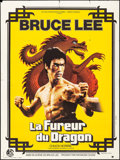 """Movie Posters:Action, The Way of the Dragon (CFDC, 1974). French Grande (47"""" X 63""""). Action.. ..."""
