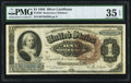 Large Size:Silver Certificates, Fr. 220 $1 1886 Silver Certificate PMG Choice Very Fine 35 EPQ.....