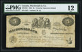 Canadian Currency, Victoria, VI- Macdonald & Co. $5 Sept. 6, 1863 Ch. #420-10-04.. ...