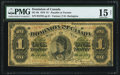 Canadian Currency, DC-8b $1 1878.. ...