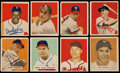 Baseball Cards:Lots, 1949 Bowman Baseball Collection (71) Including Jackie Robinson!....