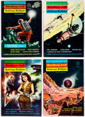 Pulps:Science Fiction, Magazine of Fantasy and Science Fiction Group of 4 (Fantasy House Inc., 1953) Condition: Average FN.... (Total: 4 Comic Books)
