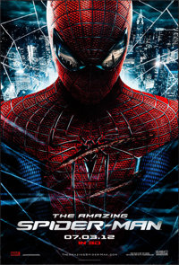 "The Amazing Spider-Man (Columbia, 2012). One Sheet (27"" X 40"") DS Advance. Action"