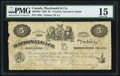 Canadian Currency, Victoria, VI- Macdonald & Co. $5 Sept. 6, 1863 Ch. # 420-10-04.. ...