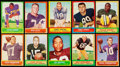 Football Cards:Sets, 1963 Topps Football Complete Set (170). ...