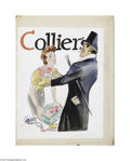 Original Illustration Art:Mainstream Illustration, AMERICAN ILLUSTRATOR (20th Century) Original Magazine CoverIllustration Collier's Gouache on board 17in. x 13in. No...