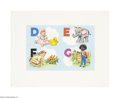 Original Illustration Art:Mainstream Illustration, AMERICAN ILLUSTRATOR (20th Century) Original Book Illustration,Group of nine Dean's ABCs Pop-Up Book Gouache on paper... (9 Items)