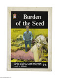 Original Illustration Art:Mainstream Illustration, ENGLISH ILLUSTRATOR (20th Century) Original Paperback CoverIllustration Burden of the Seed by Kathleen Sully Gouache ...