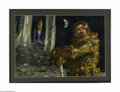 Original Illustration Art:Mainstream Illustration, DONATO GIANCOLA (American 20th Century) Original IllustrationHighrises: Cities on the Moon by Ray Bradbury Playboy, J...