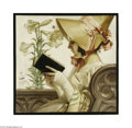 Paintings, JOSEPH CHRISTIAN LEYENDECKER (American 1874- 1951) Easter Oil on board 20.75in. x 21in. Signed center left: J C Leyendec...