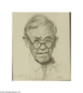 Original Illustration Art:Mainstream Illustration, NORMAN ROCKWELL (American 1894-1978) Original Illustration Pencilon paper 12in. x 10in. Initialed lower right: N.R....