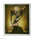 Original Illustration Art:Pin-up and Glamour Art, DONALD RUST (American b.1932) Original Pin-up Art Tereza, 2001 Oilon linen 30in. x 24in. Signed lower right: Rust ...