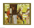 Original Illustration Art:Mainstream Illustration, HOWARD TERPNING (American b.1927) Original Illustration, c. 1960Oil on board 12.5in. x 15.25in. Signed lower right:...