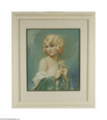 Original Illustration Art:Pin-up and Glamour Art, ALBERTO VARGAS (American 1896-1982) Original Pin-Up Art Pastel onpaper 25in. x 21in. Signed lower right: Alberto Var...