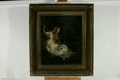 Fine Art:Paintings, ENGLISH SCHOOL (19th Century) Ophelia Oil on canvas 30in. x 24.5inCondition Report: Painting has been lined, signific...