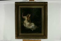 ENGLISH SCHOOL (19th Century) Ophelia Oil on canvas 30in. x 24.5in  Condition Report: Painting has been lined, signific...