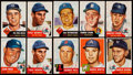 Baseball Cards:Lots, 1953 Topps Baseball Collection (48) Including 5 High Numbers....