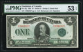 Canadian Currency, DC-25j $1 1923.. ...