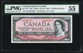 Canadian Currency, BC-44a $1000 1954.. ...
