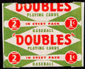Baseball Cards:Unopened Packs/Display Boxes, 1951 Topps Red Back 1-Cent Unopened Wax Pack. ...