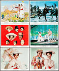 "Movie Posters:Fantasy, Mary Poppins (Buena Vista, 1964). Color Photo Set of 12 (8"" X 10"").Fantasy.. ... (Total: 12 Items)"
