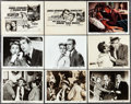 """Movie Posters:Hitchcock, The Man Who Knew Too Much (Paramount, 1956). Color Photo &Photos (22) (8"""" X 10""""). Hitchcock.. ... (Total: 23 Items)"""