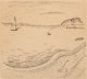 Raoul Dufy (French, 1877-1953) Seascape, 1908 Ink on paper 9-1/2 x 10-1/2 inches (24.1 x 26.7 cm) (sheet) Signed and...