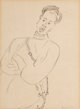Henri Matisse (1869-1954) Illustration from L'Élan, 1916 Lithograph on paper 10-1/4 x 7-1/2 inches (26.0 x 19.1 c...