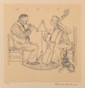 Fine Art - Work on Paper, Norman Rockwell (American, 1894-1978). Four Seasons Set.Lithograph on paper, each. 13-1/2 x 13-1/4 inches (34.3 x 33.7 ...(Total: 4 Items)