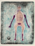 Prints & Multiples, Rufino Tamayo (Mexican, 1899-1991). La Négresse, 1969. Lithograph in colors on paper. 27-1/4 x 21 inches (69.2 x 53.3 cm...