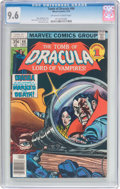 Bronze Age (1970-1979):Horror, Tomb of Dracula #66 (Marvel, 1978) CGC NM+ 9.6 Off-white to whitepages....
