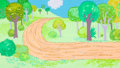 Animation Art:Painted cel background, The Sidecar Painted Pan Production Background Original Art(c. 1970s-80s)....