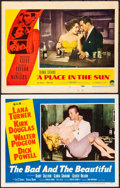 """Movie Posters:Drama, The Bad and the Beautiful & Other Lot (MGM, 1953). Overall:Very Fine-. Lobby Cards (2) (11"""" X 14""""). Drama.. ... (Total: 2Items)"""