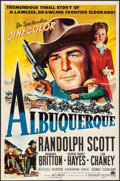 "Movie Posters:Western, Albuquerque (Paramount, 1948). One Sheet (27"" X 41""). Western.. ..."