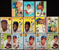 Baseball Cards:Lots, 1954 Through 1960 Topps Hall of Fame Collection (13)....