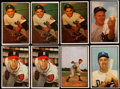 Baseball Cards:Lots, 1953 and 1954 Bowman Baseball Hall of Fame Collection (17)....
