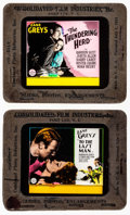 "Movie Posters:Western, To the Last Man & Others Lot (Paramount, 1933). Glass Slides (4) (3.25"" X 4""). Western.. ... (Total: 4 Items)"