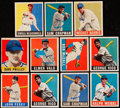Baseball Cards:Lots, 1948 Leaf Baseball Collection (11) Including Two Short Prints (11)....