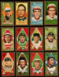 """Baseball Cards:Lots, 1911 T205 Gold Border """"Piedmont"""" Collection (12). ... (Total: 10items)"""