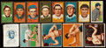 Baseball Cards:Lots, 1909-11 S74, T206, T205 & T218 Collection (18). ...