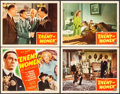 "Movie Posters:War, Enemy of Women (Monogram, 1944). Title Lobby Card & Lobby Cards(3) (11"" X 14""). War.. ... (Total: 4 Items)"