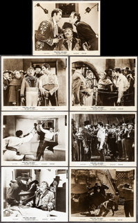 """The Mark of Zorro (20th Century Fox, R-1958). Photos (11) (8"""" X 10""""). Swashbuckler. ... (Total: 11 Items)"""